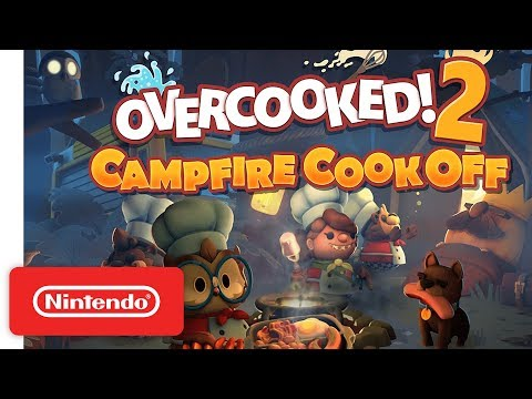 Overcooked 2: Campfire Cook Off DLC - Launch Trailer - Nintendo Switch