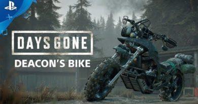 Days Gone - Deacon's Bike   PS4