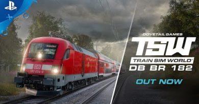 Train Sim World: DB BR 182 - Launch Trailer | PS4