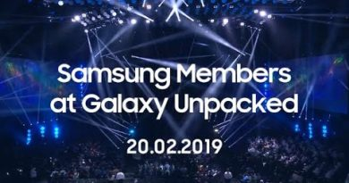 Samsung Members: Exclusive experience at Galaxy Unpacked 20.02.2019.