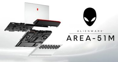 The ALIENWARE AREA-51M Gaming Laptop