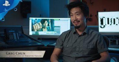 Judgement - Greg Chun: The Voice of Judgement   PS4