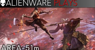 Area-51m 4k Gameplay - Sekiro: Shadows Die Twice (RTX 2080)