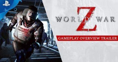 World War Z - Overview Gameplay Trailer   PS4