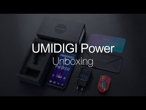 UMIDIGI Power: Unboxing the Power Beast!