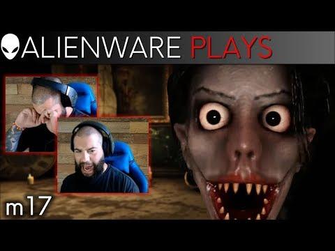 Alienware m17: Ernie Plays Escape The Ayuwoki the Jump Scare Game