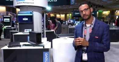 ThinkSystem SE350 In Action at Accelerate 2019