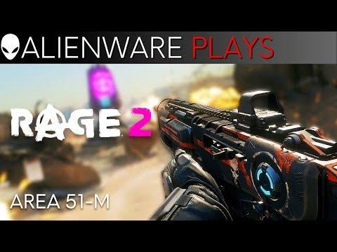 Rage 2 Free Roam Gameplay Walkthrough on Ultra Graphics - Alienware Area-51m Gaming Laptop
