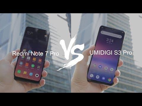 UMIDIGI S3 Pro vs Xiaomi Redmi Note 7 Pro!