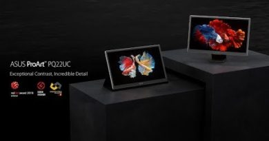 The World's 1st Portable 4K OLED Monitor  Support Dolby Vision™ - ProArt PQ22UC   ASUS