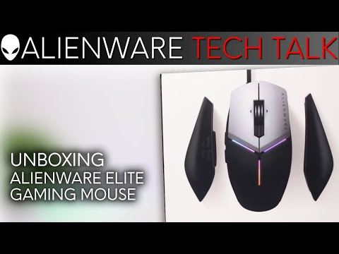 Alienware Elite Gaming Mouse Unboxing & Breakdown