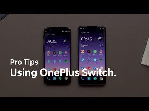 OnePlus Pro Tips - Using OnePlus Switch