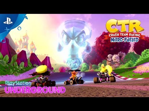 Crash Team Racing Nitro-Fueled - Adventure Mode Gameplay | PlayStation Underground