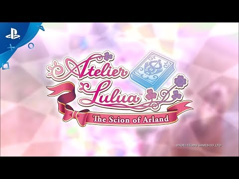 Atelier Lulua: The Scion of Arland - Launch Trailer | PS4