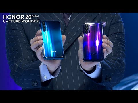 HONOR 20 Series Launch Event Highlight