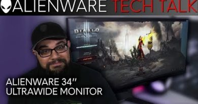 34-Inch Ultrawide Monitor with G-Sync   Alienware Tech Talk
