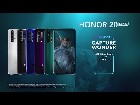 Capturing Wonder: Introducing the HONOR 20 Series