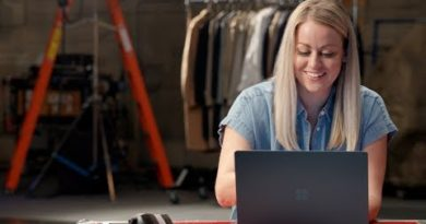 Surface Laptop 2 with Taylor Church – A TV producer capturing great stories