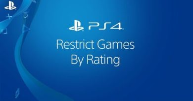 Restrict a Child Account's Access to PS4 Games By Rating | PlayStation