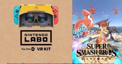 Nintendo Labo: VR Kit + Super Smash Bros. UItimate