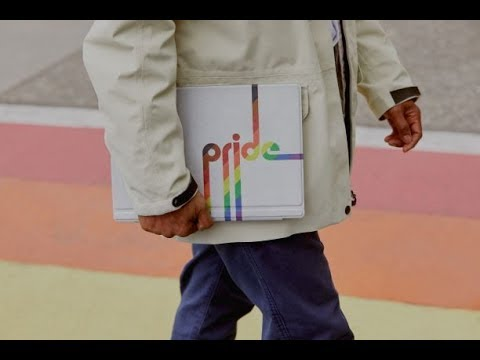 Behind the scenes of the Surface Pro Pride Type Cover and Pride Skin