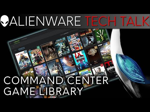 Alienware's Universal Game Library/Launcher in Command Center