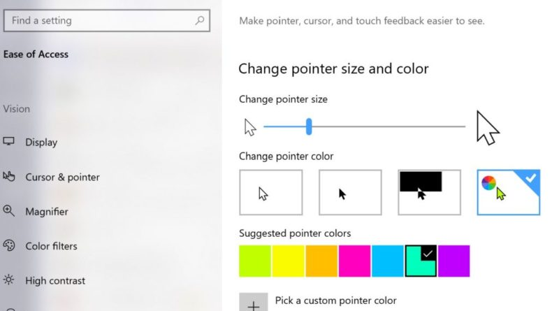What's new in Windows 10 accessibility