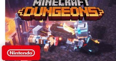 Minecraft Dungeons - Announcement Trailer - Nintendo Switch