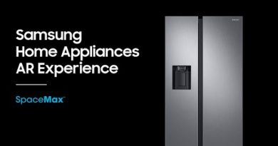 Samsung Refrigerator AR Experience : SpaceMax Technology™ and Twin Cooling Plus™