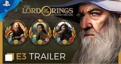 The Lord of the Rings: Adventure Card Game - E3 2019 Trailer   PS4