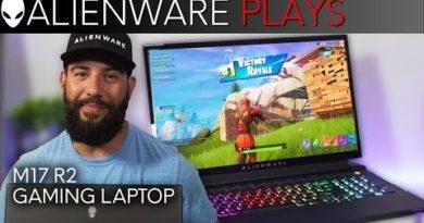Fortnite Team Rumble Gameplay - Alienware M17 R2 Gaming Laptop