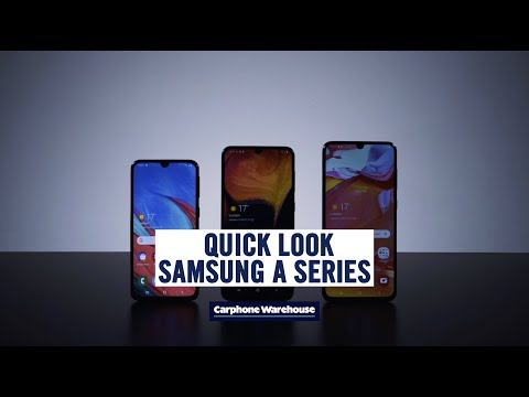 Quick look Samsung Galaxy A-series