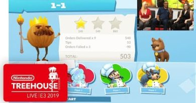 Overcooked! 2: Night of the Hangry Horde DLC Gameplay - Nintendo Treehouse: Live   E3 2019