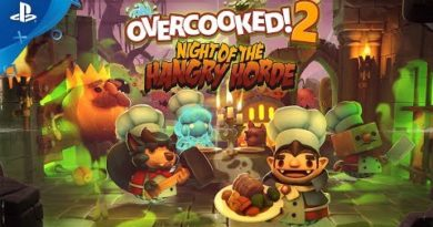 Overcooked! 2 - Night of the Hangry Horde Release Trailer | PS4