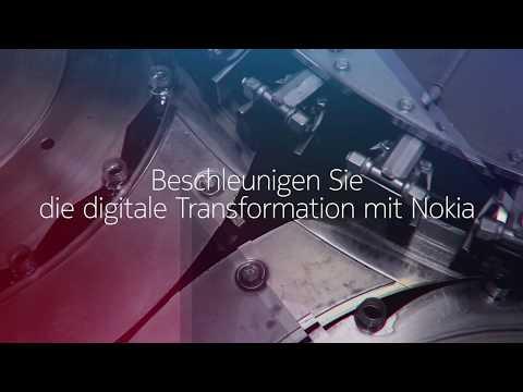 Beschleunigen Sie die digitale Transformation mit Nokia