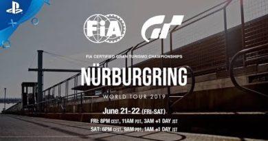 Gran Turismo - 2019 World Tour 2 at Nurburgring Trailer | PS4