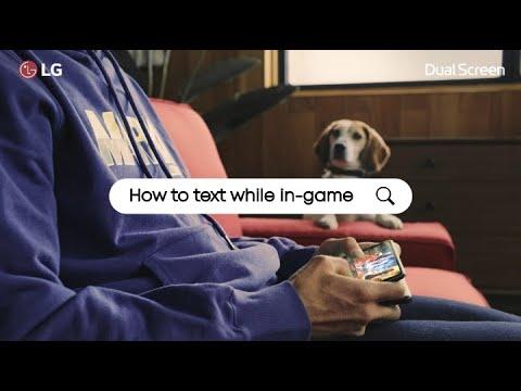 LG V50 ThinQ & Dual Screen: Life Hacks – Game + Messenger