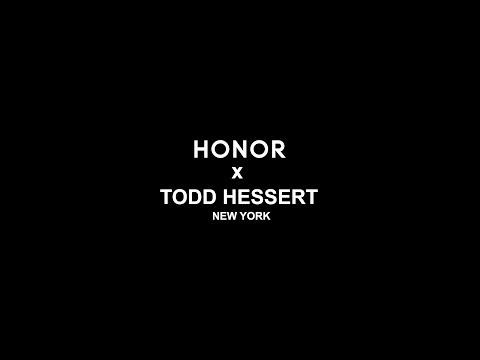 HONOR 20 Series X Todd Hessert in New York Fashion Week