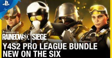 Rainbow Six Siege - Y4S2 Pro League Bundle: New on the Six | PS4