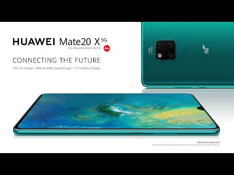 Introducing the HUAWEI Mate 20 X 5G