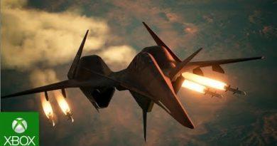 Ace Combat 7: DLC 2: ADF-01 FALKEN Trailer