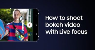 Galaxy A80: How to add bokeh to videos with Live focus