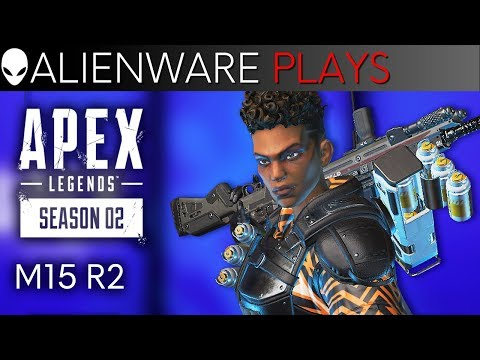 Apex Legends Season 2 Gameplay on Alienware M15 R2 Gaming Laptop
