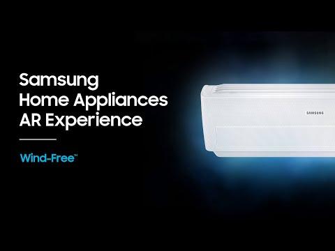 Samsung Home Appliances AR: Samsung Wind-Free™