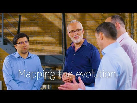 Mapping the evolution