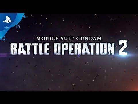 Mobile Suit Gundam: Battle Operation 2 - Announcement Trailer | PS4