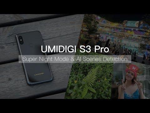 UMIDIGI S3 Pro: Experience NEW Super Night Mode & AI Scenes Detection!