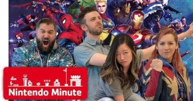 MARVEL ULTIMATE ALLIANCE 3: The Black Order w/ Strawburry17 & Matt from SMOSH - Nintendo Minute