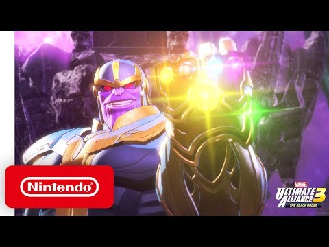 MARVEL ULTIMATE ALLIANCE 3: The Black Order - Launch Trailer - Nintendo Switch