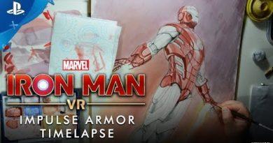 Marvel's Iron Man VR – Impulse Armor Timelapse | PS VR